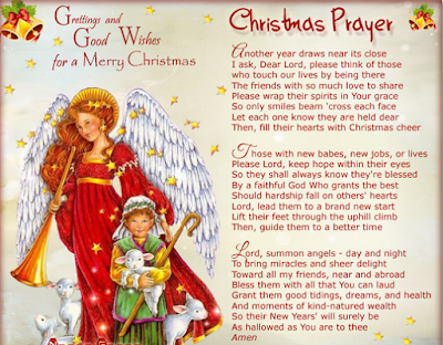 christmas prayer for children