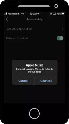 cara menggunakan apple music di tik tok-3