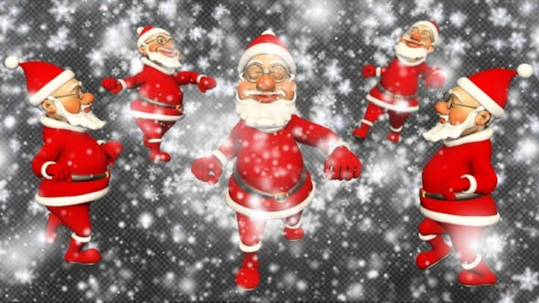 Santa Funny Transition[4 Pack][Videohive][After Effects][22907995]