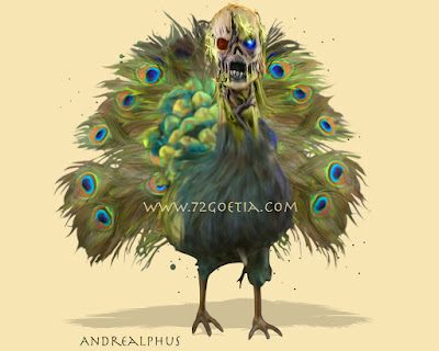 Andrealphus the Marquis of Hell in the Ars Goetia of the Lesser Key of Solomon