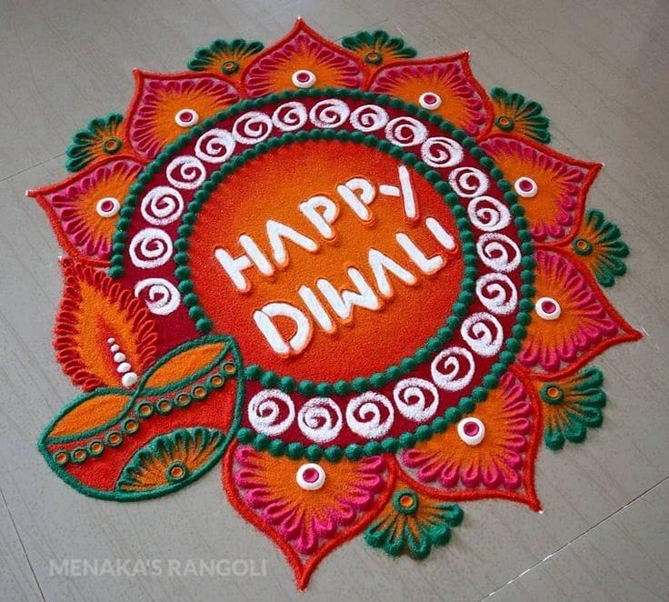 Top 10 Rangoli Designs for Diwali 2020 Download now