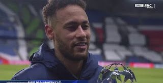 Neymar speak on his future eliminating Bayern from the Champions League