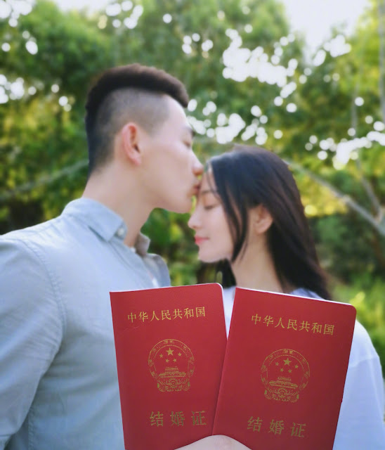 Viann Zhang Xinyu married