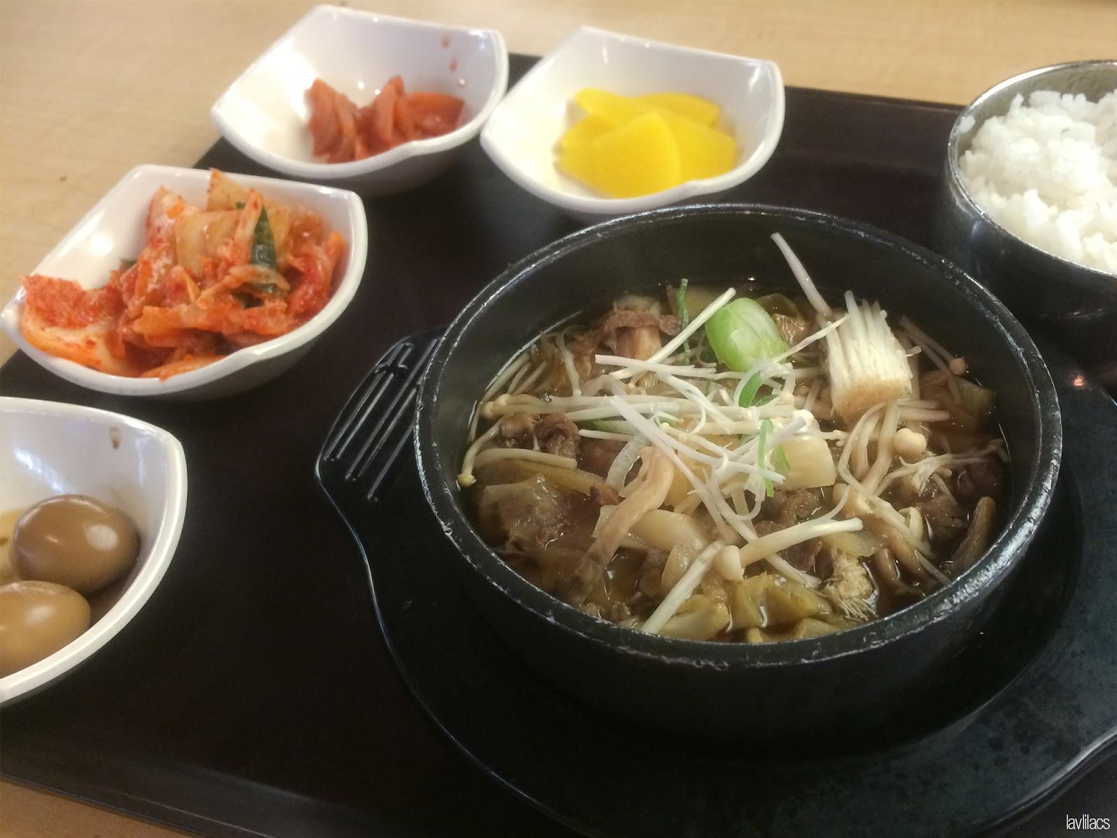 Seoul, Korea - Summer Study Abroad 2014 - Yonsei University - Student Union Building - Bulgogi 불고기