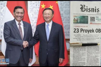 Bantah Klaim Luhut, Walhi Ingatkan Jebakan Utang China di Proyek OBOR