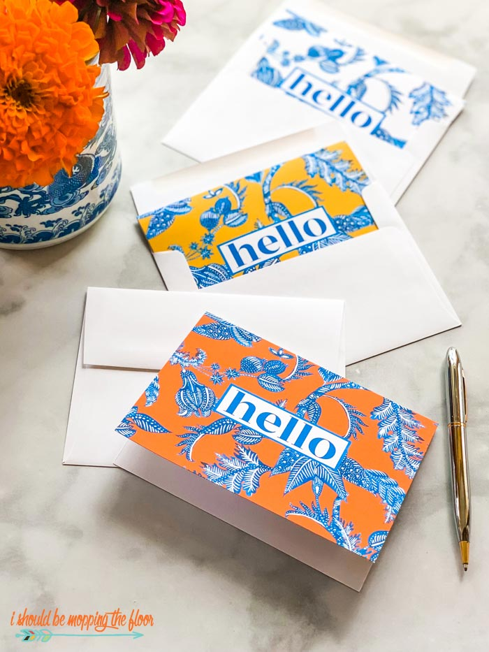 Chinoiserie Stationery