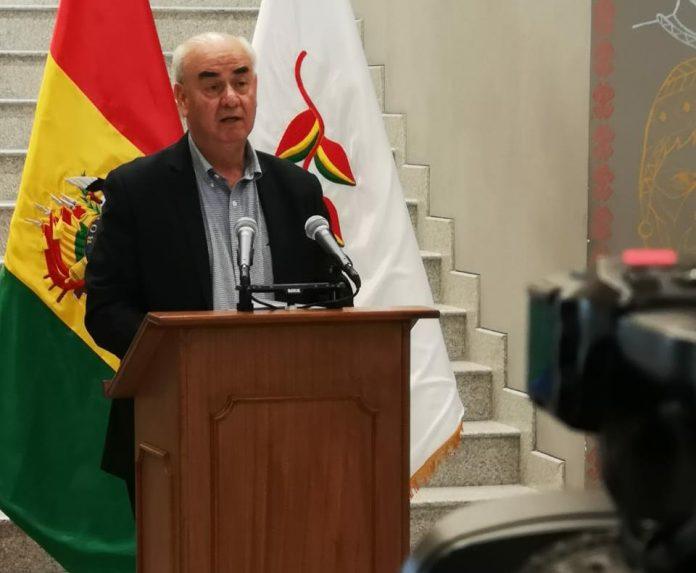 El ministro de Economía, José Luis Parada / ABI
