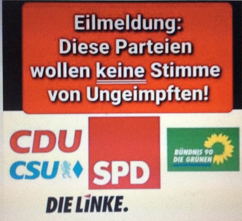 """Bundestagswahl 2021: Gegen nächsten Lock-Down Stimme gültig für """"Die Basis"""" einsetzen"""