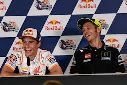 Valentino Rossi dan Marc Marquez Dinilai Telah Membuat MotoGp Semakin Menarik