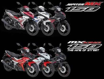 Jupiter MX King dan MX 150
