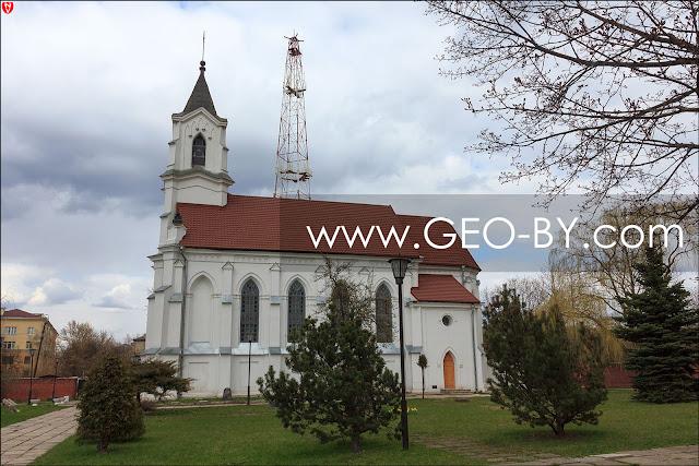 Miasto Mińsk. Kościół Św. Trójcy (Św. Rocha)