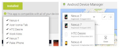 Android device manager remove device