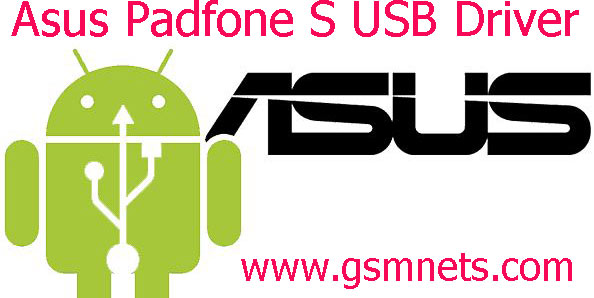 Asus Padfone S USB Driver Download