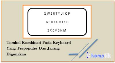Tombol Kombinasi Pada Keyboard Yang Terpopuler