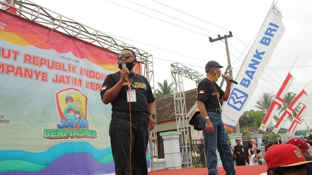 Banjarwaru WernoWerni 2020 : Kampanye Jatim Bermasker