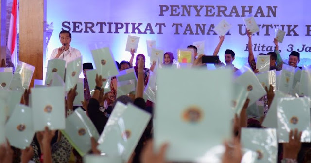 2019, BPN DIY targetkan Pendaftaran 275.000 Bidang Tanah