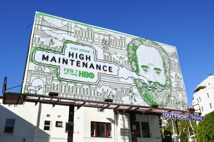 High Maintenance season 4 billboard