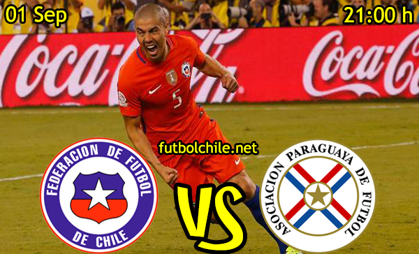 Ver stream hd youtube facebook movil android ios iphone table ipad windows mac linux resultado en vivo, online: Paraguay vs Chile
