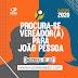 REDE amplia o foco e procura por vereadores para a Câmara Municipal de João Pessoa, já começou.