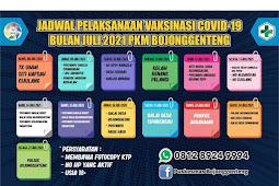 Jadwal Vaksin di Kabupaten Sukabumi