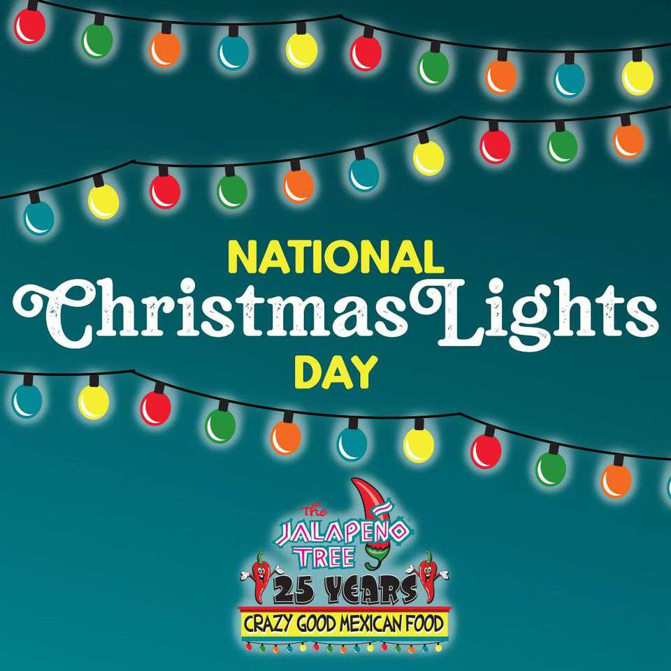 National Christmas Lights Day Wishes for Instagram