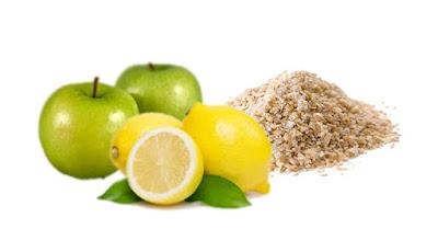 Batido de avena manzana y limon para bajar de peso