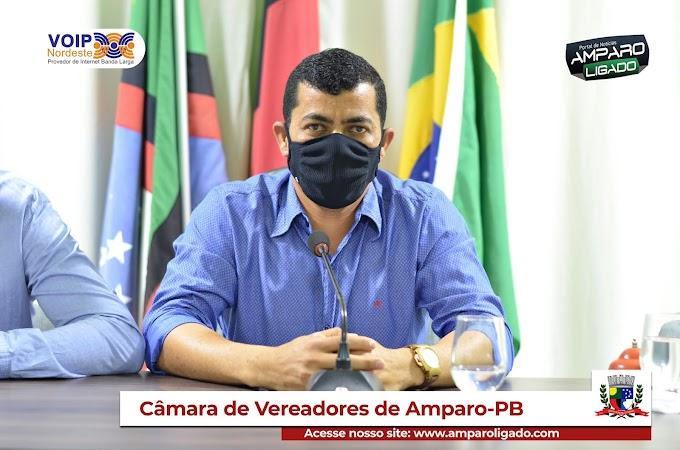 Mensagem do Presidente da Câmara de Amparo Duda Barnabé a todos os legisladores Amparenses pelo Dia do Vereador