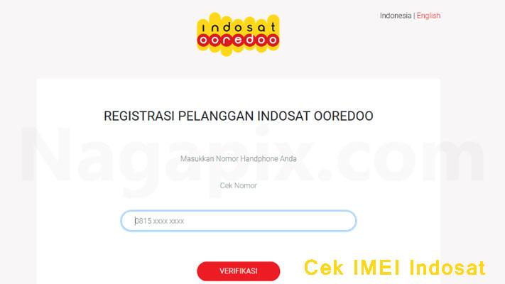 Cek IMEI Indosat