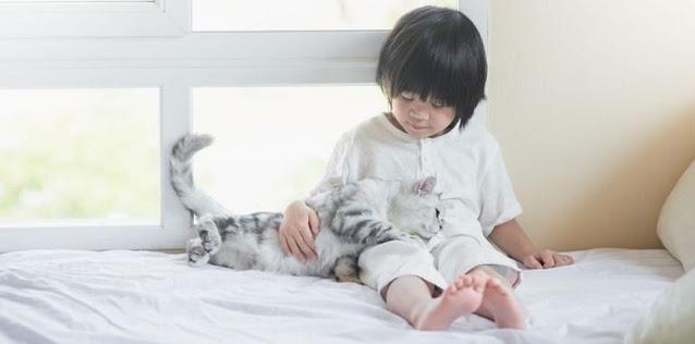 kids having pets