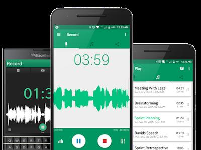 Parrot - Voice Recorder pour Android