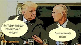 Blog Isla Mía Rick Scott pide mano dura con Cuba