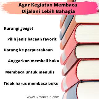 agar membacalebih bahagia