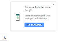 Baru dari Google! Alat Penguji kecepatan Situs