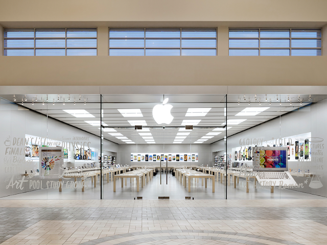 Shopping Florida Mall en Orlando: tienda de Apple