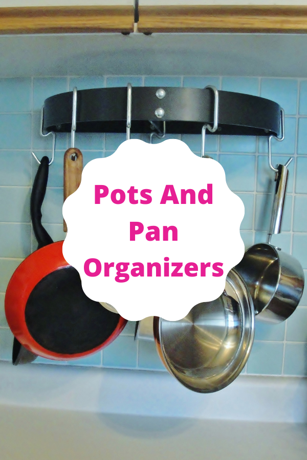 Clever solutions to help your organize your pots and pans - and save space