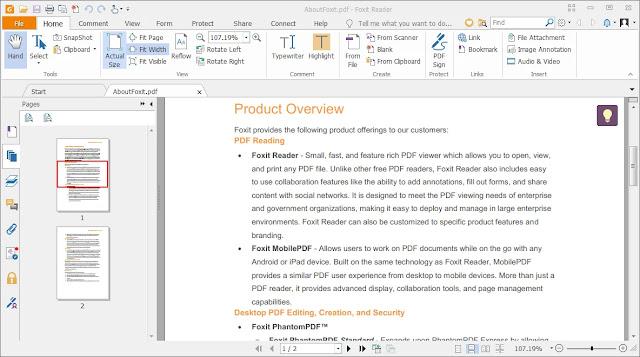 تحميل برنامج Foxit Reader 2020 عربي كامل لتشغيل ملفات PDF