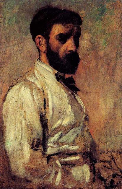 Эдгар Дега - Портрет Леона Бонната (1863)