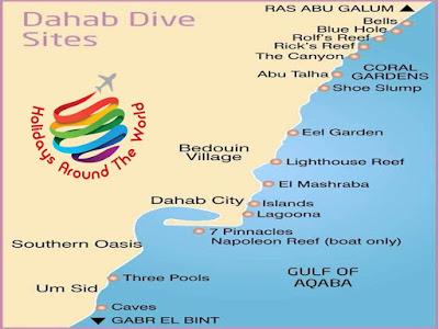 Diving Sites - Dahab - Egypt