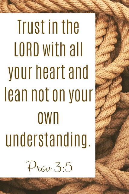 Bible Verse | Trust In The Lord With All Your Heart