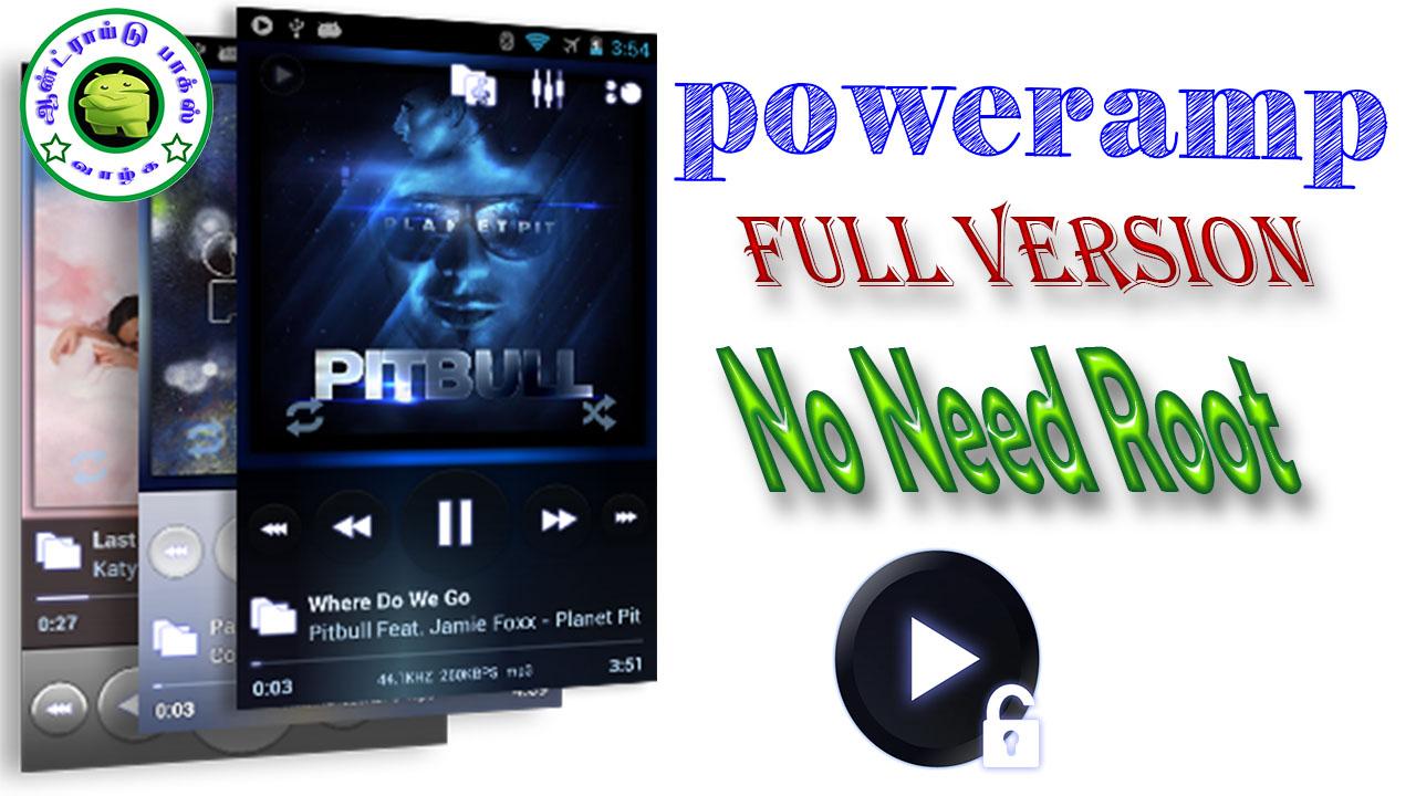 Poweramp Mod Apk