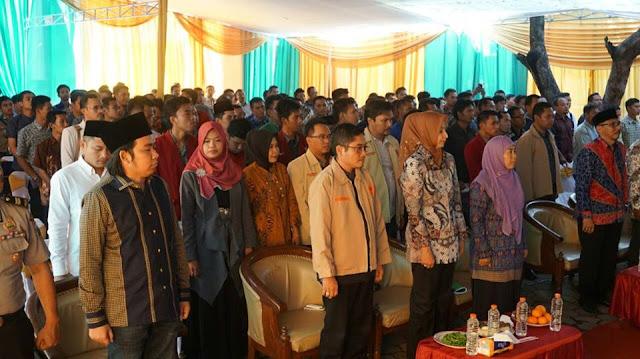Bupati Jember di sela-sela Pembukaan MUSDA Pemuda Muhammadiyah Jember