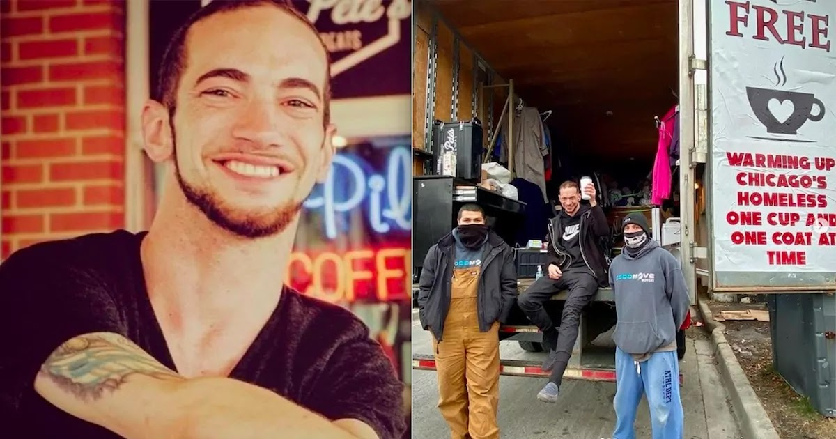 Chicago Coffee Shop Owner Collects Thousands Of Coats For The Homeless And Delivers Them With Coffee