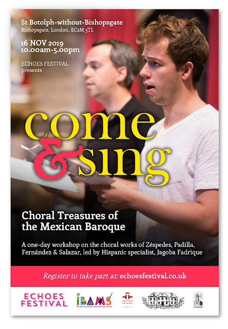 Come & Sing Mexican Baroque Choral Gems: Zéspedes and the Music of Puebla Cathedral
