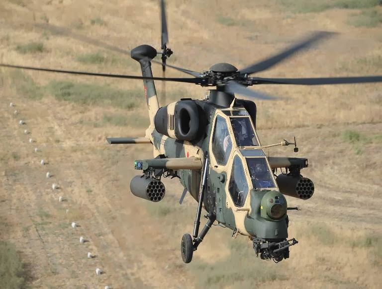 Turkish T-129 (AW729) Attack Helicopter | Global Military ...