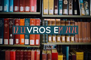 12 livros em 2020