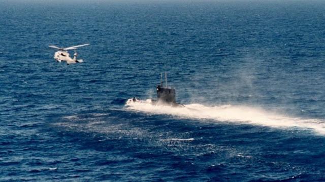 Η Τουρκία ψάχνει το Ελληνικό υποβρύχιο «214» που τους χαλάει την μαγιά στην Αν. Μεσόγειο