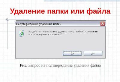 как удалить файлы на съемных носителях