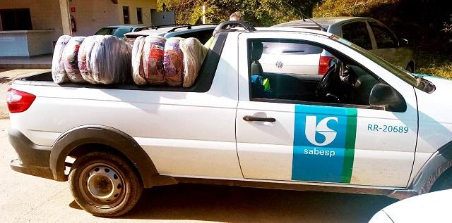 Ações do Voluntariado Sabesp Vale do Ribeira ajuda a aquecer famílias em situação de vulnerabilidade
