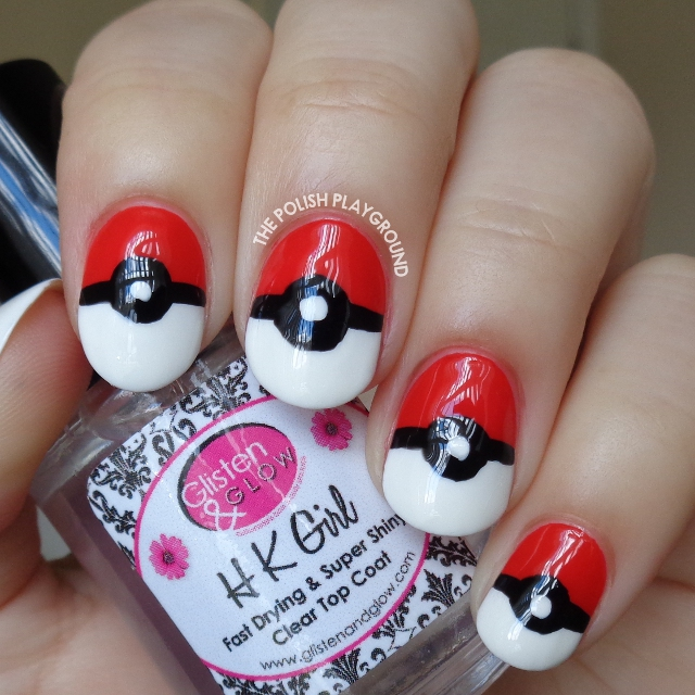 Pokemon Inspired Nail Art