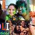 Indian Celebrities Holi Celebrations